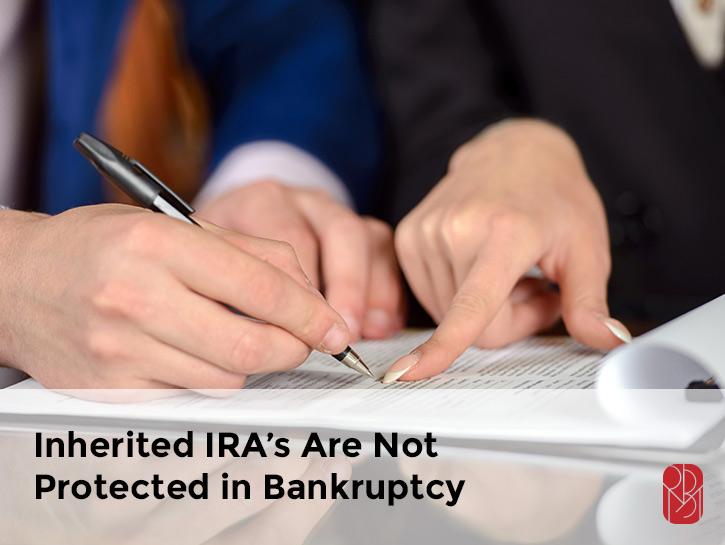 bankruptcy inherited IRA